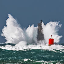 ©  / Pêcheur d'Images / AA39406 Four lighthouse, Zeus storm - Photo Galleries - Maritime Signals