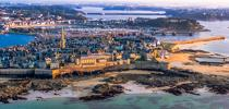 © Philip Plisson / Pêcheur d'Images / AA39593 Saint-Malo from the sky - Photo Galleries - Framing