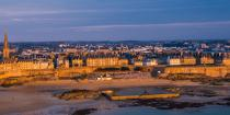 © Philip Plisson / Pêcheur d'Images / AA39595 Saint-Malo from the sky - Photo Galleries - Framing