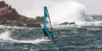 © Philip Plisson / Pêcheur d'Images / AA39614 Windsurf in La Torche in Finistère department - Photo Galleries - Framing