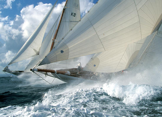 Plisson report photo - Classic Yachting