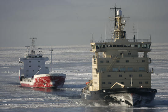 Pêcheur d'Images report photo - Icebreaker in the Baltic