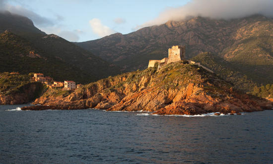 Plisson report photo - From Ajaccio to the Revellata Cape