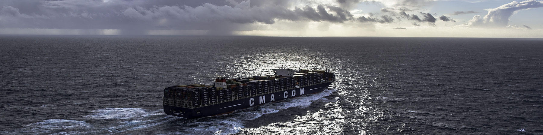 Le CMA CGM Marco Polo - Photo Plisson