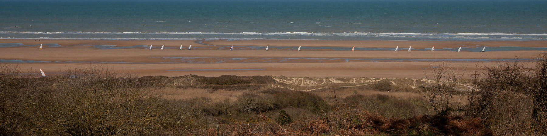 Sand yachting at Omaha Beach - Photo Pêcheur d'Images