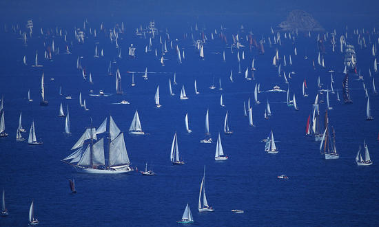 Plisson report photo - The major maritime celebrations in Brest