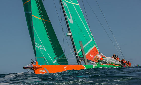 Reportage photo Plisson - Volvo Ocean Race